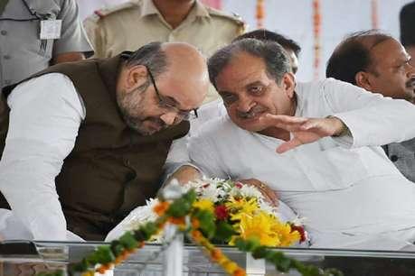 बीरेंद्र सिंह ने अमित शाह को बताया मैन ऑफ स्टील, बोले- जो काम 70 सालों में नहीं हुआ वो 70 दिनों में किया