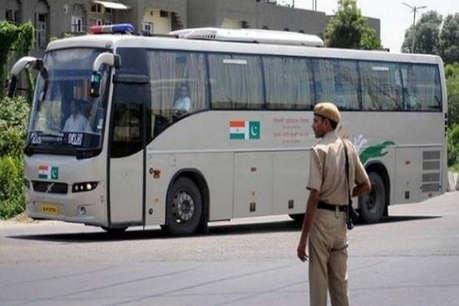 बौखलाए पाकिस्तान ने बंद की अमृतसर-लाहौर बस सेवा