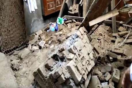 सोनीपत में मकान की छत गिरने से किसान की मौत
