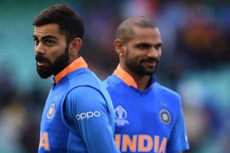 शिखर धवन के चक्कर में इस खिलाड़ी पर 'अन्याय' कर रहे विराट कोहली