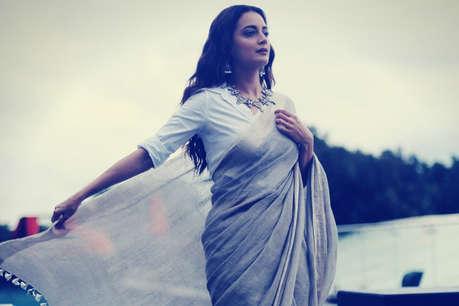 पति से तलाक के बाद कुछ इस लुक में नजर आईं दीया मिर्जा
