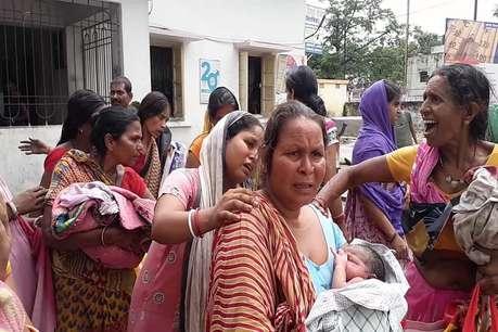 सरकारी अस्पताल में के डिलिवरी वार्ड में लगी भीषण आग, मची अफरातफरी
