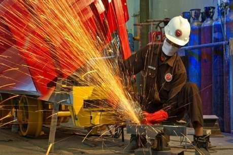अर्थव्यवस्था को लगा बड़ा झटका: IIP ग्रोथ गिरकर 2% हुई, 4 महीने के निचले स्तर पर