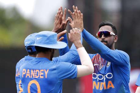 India vs West Indies, 2nd T20: भारत ने 22 रन से जीता मैच, सीरीज की अपने नाम