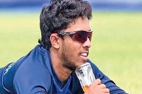 बाइक चला रहे श्रीलंकाई बल्लेबाज कुसल मेंडिस हुए हादसे का शिकार, देखें VIDEO
