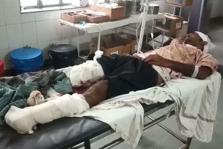 दोनों पैरों से गुजरी ट्रेन, रात भर तड़पता रहा लेकिन बच गई जान