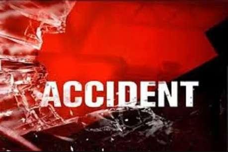 बाड़मेर में भीषण सड़क हादसा, ट्रैक्टर के ऊपर चढ़ा ट्रक, तीन की मौत