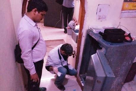 SBI की ब्रांच में चोरों ने तिजोरी तोड़ी, गोल्ड लोन का लाखों रुपए का सोना पार