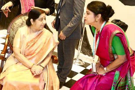 Sushma Swaraj Death: जिस आवाज़ को लोगों ने समझा सुषमा की आवाज़