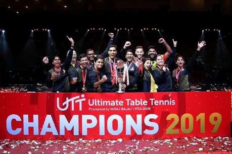 यूटीटी: शरत कमल की टीम ने तोड़ा दबंग दिल्ली का सपना, चेन्नई ने पहली बार जीता खिताब