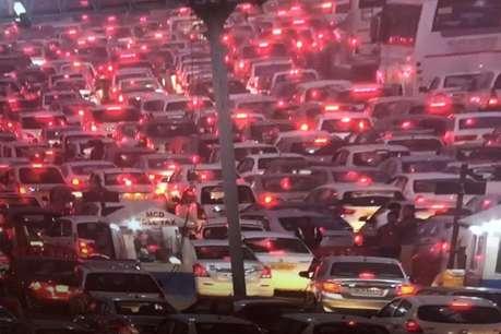 इसलिए दिल्ली से लेकर गुड़गांव तक जाम में फंसी हैं कार और बस