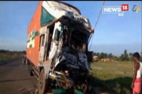 बेकाबू ट्रक ने कांवड़ियों के ट्रैक्टर को मारी टक्कर, 3 की मौत