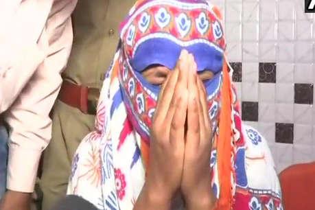 उन्नाव कांडः 8 दिन बाद बेटी का चेहरा देख छलका मां का दर्द- नहीं जानती बिटिया ठीक है कि नहीं