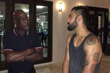 विवियन रिचर्ड्स से मिले विराट कोहली, बताया सबसे बड़ा बॉस