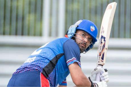 युवराज सिंह हुए चोटिल, दो गेंद बाद ही दर्द के कारण छोड़ना पड़ा मैदान