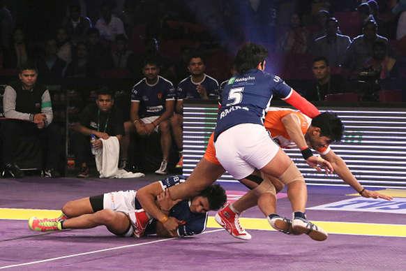 Pro Kabaddi : फिर हारी दिल्ली, जयपुर ने 9 अंकों के अंतर से दी मात