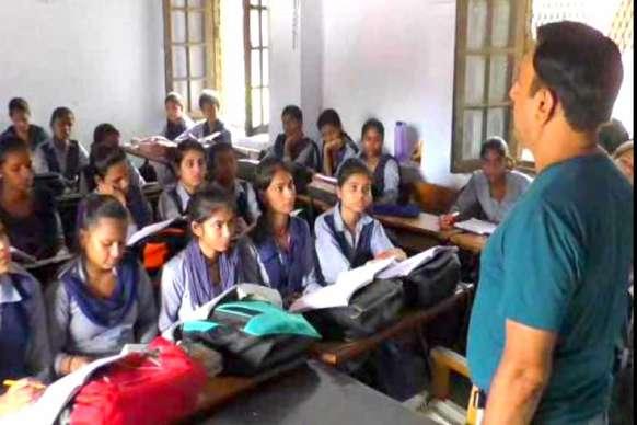 करनाल के राजकीय कन्या वरिष्ठ माध्यमिक विद्यालय को आदर्श स्कूल का तमगा