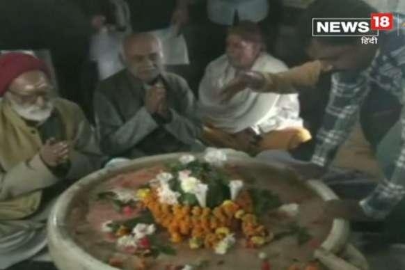 भगवान राम के प्रकटोत्सव का आगाज, श्रद्धालुओं की उमड़ी भीड़