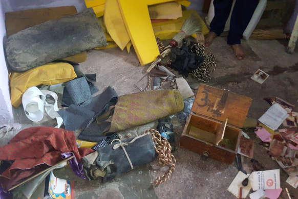 VIDEO: भरतपुर में चोरों ने दो दुकानों को बनाया निशाना