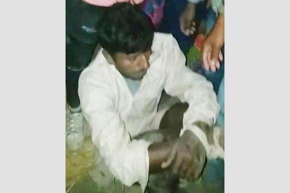 समस्तीपुर में मवेशी चोर को लोगों ने की जमकर धुनाई