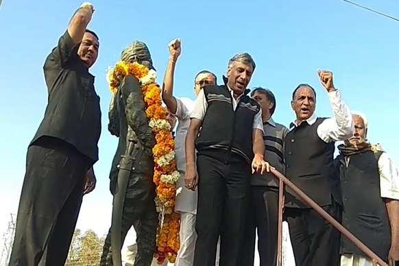 धूमधाम से मनी किसान केसरी बलदेव राम मिर्धा की 129वीं जयंती
