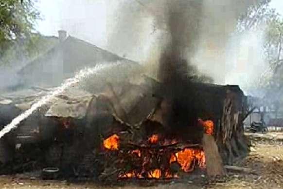 VIDEO: सर्किट हाउस के एक घर में आग से अफरा तफरी मची