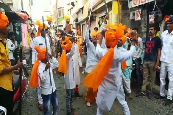 VIDEO: धूमधाम से निकाली परशुराम जयंती की शोभायात्रा, जगह-जगह हुआ स्वागत