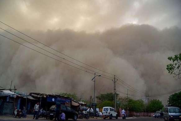 हरियाणा में आने वाले 3-4 दिनों तक धूल भरी आंधी चलने की संभावना