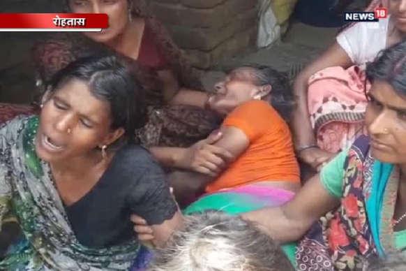 VIDEO : रोहतास में सोन नदी में डूबने से 2 बच्चों की मौत