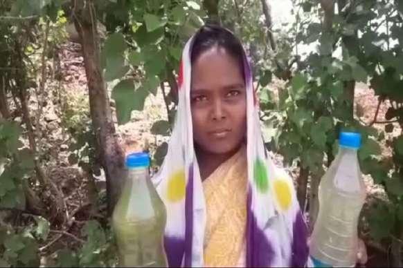 दूषित पानी पीने को मजबूर संरक्षित बैगा जनजाति के 23 परिवार