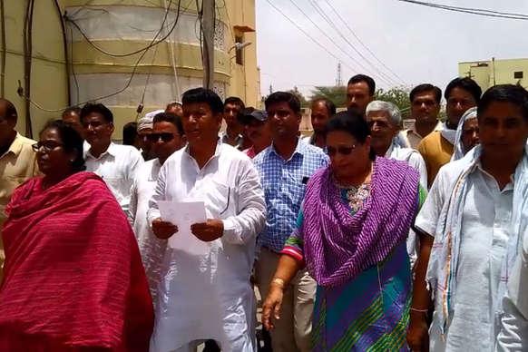 मुख्यमंत्री जल स्वावलम्बन अभियान में अनियमितता के आरोप, ग्रामीणों ने की जांच की मांग