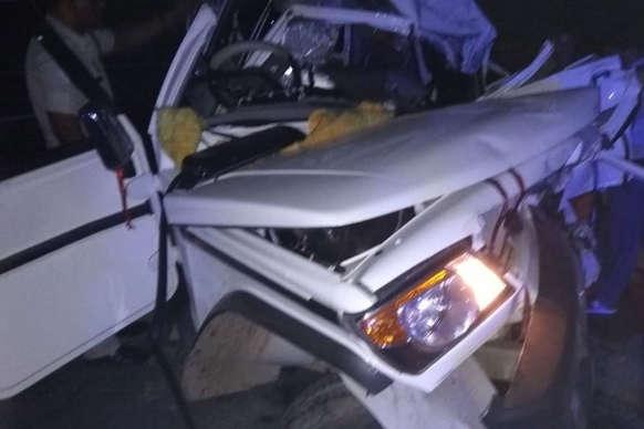 कन्नौज: आगरा-लखनऊ एक्सप्रेसवे पर भीषण सड़क हादसा, 8 श्रद्धालुओं की मौत