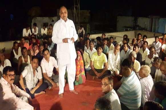 भरतपुर में बीईएसएल के खिलाफ आंदोलन की बनी रणनीति