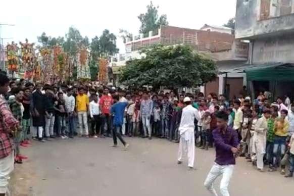 धौलपुर जिले भर में निकले ताजिये के जुलूस, कर्बला में हुए सुपुर्दे ख़ाक