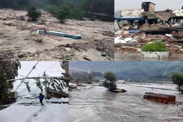 बारिश का कहर: किशोरी समेत 3 लोग पानी में बहे, IIT के 5 फैकल्टी मेंबर लापता