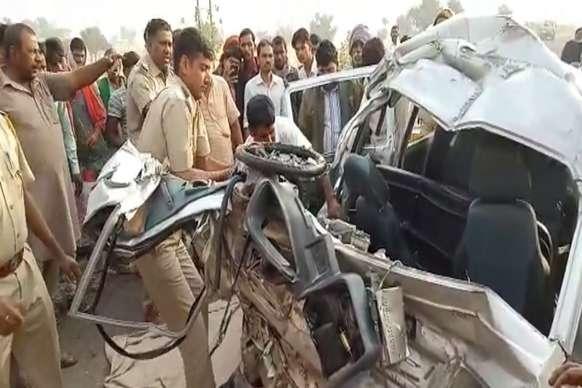 VIDEO: बीकानेर में हुआ भीषण सड़क हादसा, 6 की मौत