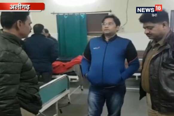शराब तस्करों से पुलिस की मुठभेड़, 20 हजार का इनामी बदमाश घायल