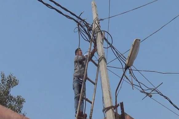 बिजली विभाग काट रहा है बकायेदारों के कनेक्शन, 105 करोड़ रूपए है बकाया