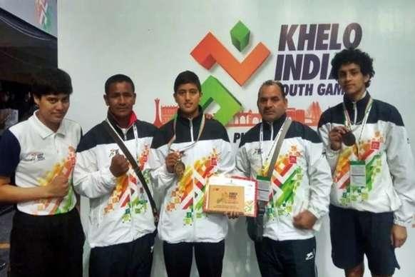 खेलो इंडिया गेम्स : चौकीदार की बेटी का 'गोल्डन' पंच, वर्ल्ड चैंपियन को दी मात
