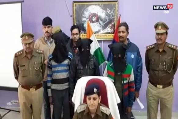 नेपाल से चुराई गई अष्टधातु की बुद्ध मूर्ति को पुलिस ने किया बरामद, 3 गिरफ्तार