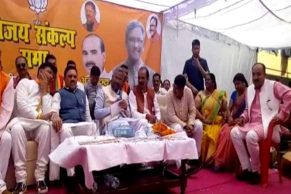 PHOTOS : लोकसभा चुनाव 2019 - अजय टम्टा के समर्थन में सीएम ने जनसभा को किया संबोधित