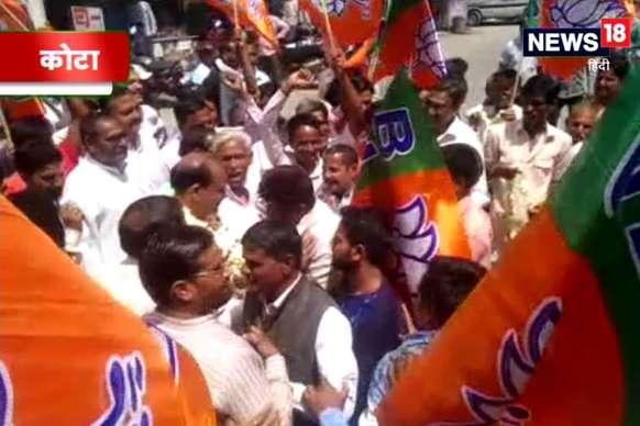 VIDEO : कोटा-बून्दी लोकसभा सीट के लिए भाजपा प्रत्याशी ओमबिरला ने तेज किया चुनाव प्रचार