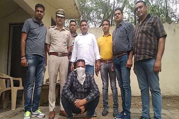 पंचकूला पुलिस ने 40 ग्राम चिट्टे के साथ एक युवक को किया गिरफ्तार