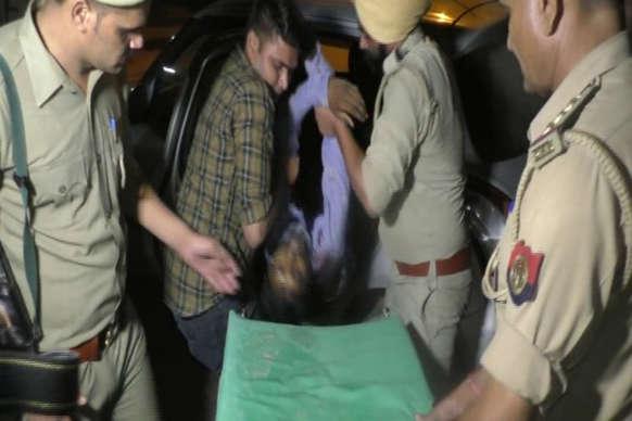 अमरोहा पुलिस की मुठभेड़ में ढेर हुआ 2.5 लाख का इनामी