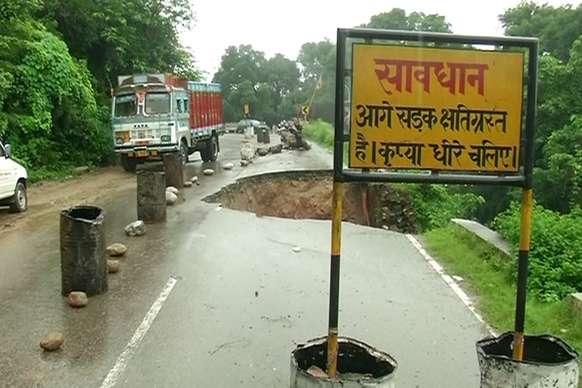 तीन दिन की बारिश में कांगड़ा को हो चुका 55 करोड़ का नुकसान