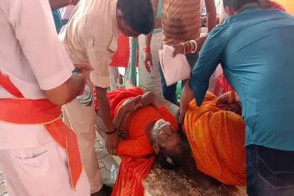 लखीसराय के अशोकधाम मंदिर में भगदड़, एक श्रद्धालु की मौत