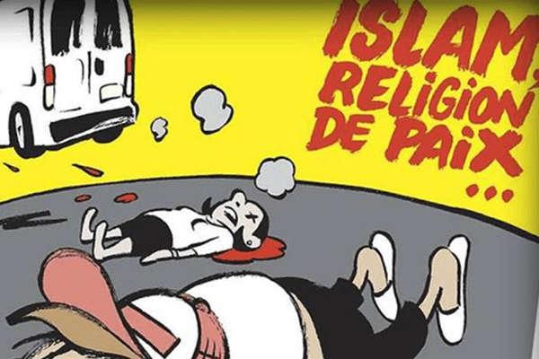शार्ली एब्दो का एक और विवादित कार्टून, ट्विटर पर हो रही आलोचना