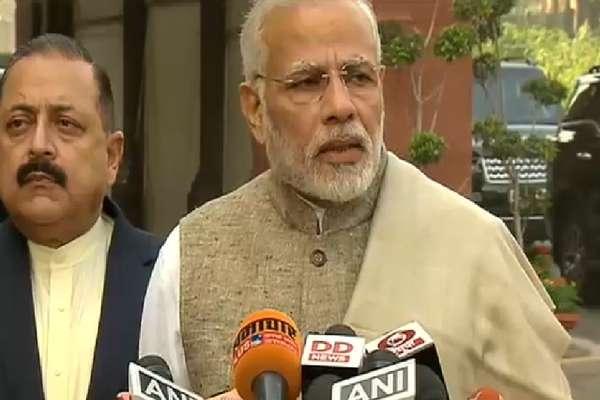 VIDEO- संसद के शीतकालीन सत्र में अच्छी बहस की उम्मीद: PM मोदी