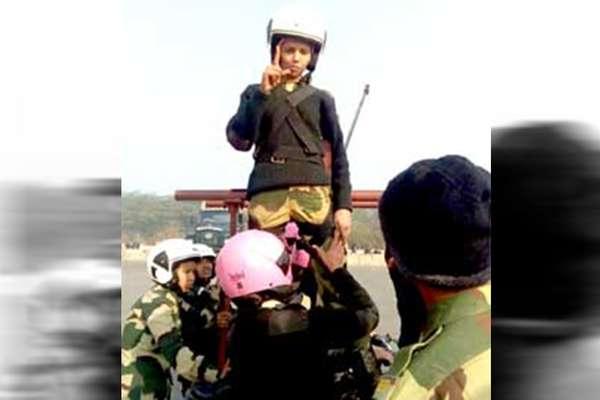 BSF में शौर्य का प्रतीक बनी MP की यह बेटी, अनूठी है संघर्ष की दास्तां