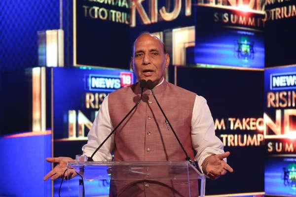 News18 Rising India: गोरखपुर में हार पर बोले राजनाथ- हो गया, आगे नहीं होगा